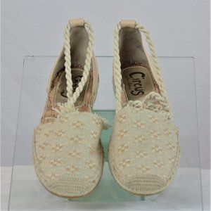 Circus Lenora Natural Espadrille Brand New WOB/T